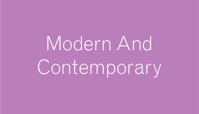 Modern and Contemporary